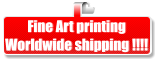 Fine Art printing Worldwide shipping !!!!
